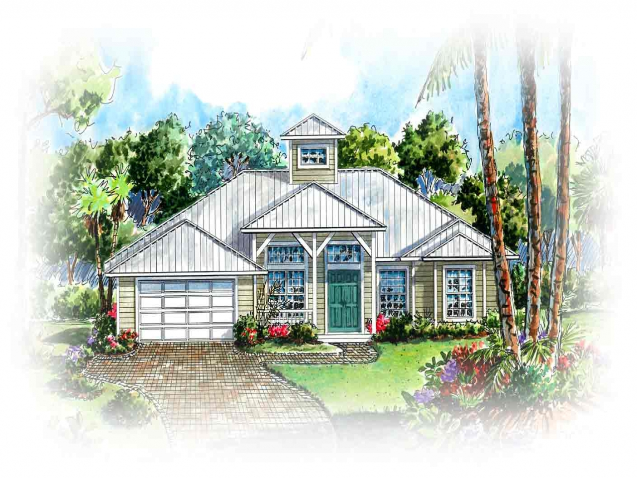 House Plans Country Texas