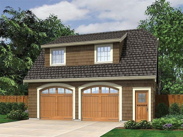 Detached Garage with Apartment Plans