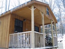 Small Portable Hunting Cabins