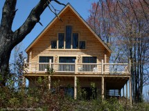 Log Home Plans With Walkout Basement Open Floor