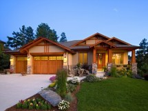 Ranch Style Home Exteriors Craftsman Exterior