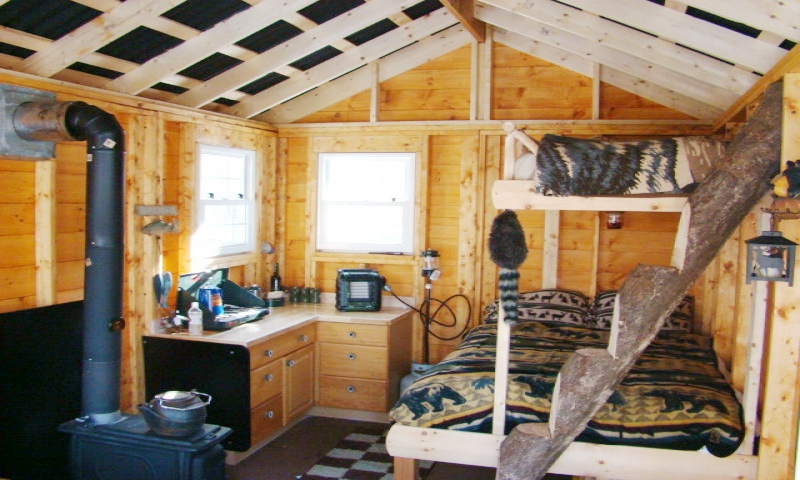 Small Cabins Tiny Houses Interiors Interior Portable Building Cabin Cabins You Can Build