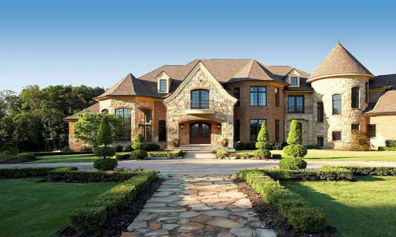 French Country Ranch Exteriors French Country Exterior Home House country house plans one story
