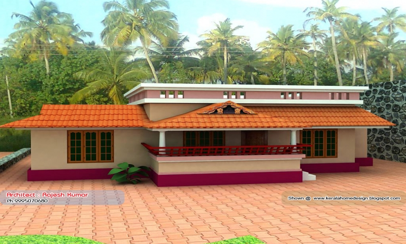 Kerala Small House Plans Under 1000 Sq FT Small Beach House Plans New House Plans That Look Old