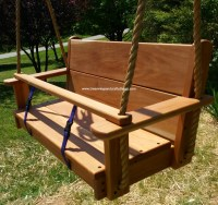 Seat Wood Tree Swings