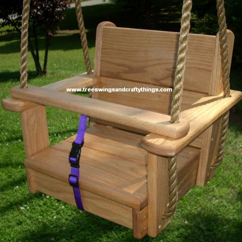 Wood Tree Swings and Crafts