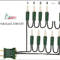 Xmas Lights Wiring Diagram Cash Flow Creator Fixing Christmas Series Parallel Lighting The Basic Electrical Details To How Work