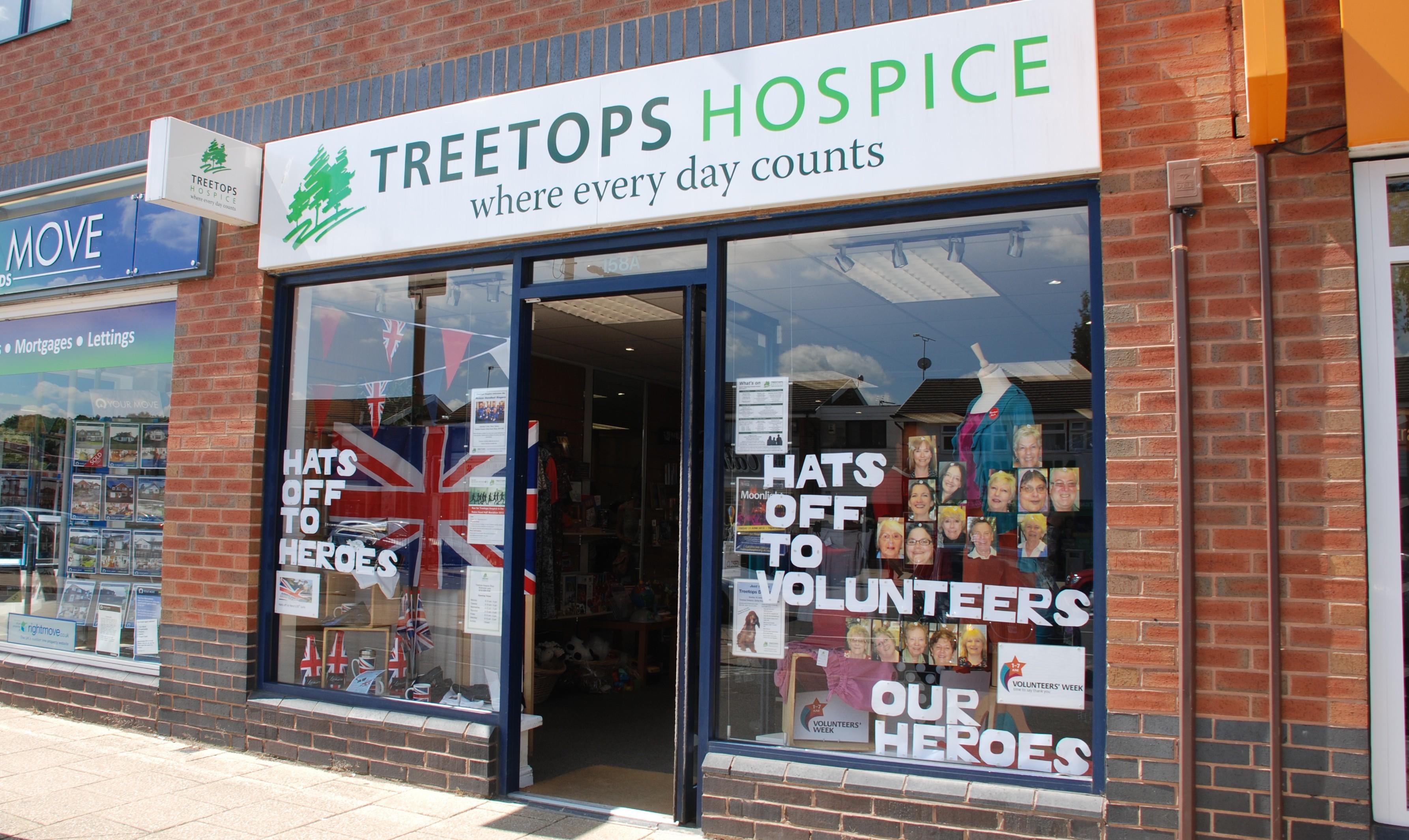 Shops Treetops Hospice Care