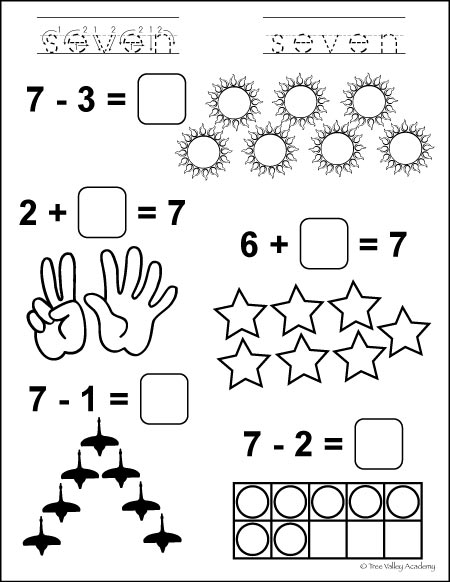 Number Study Seven