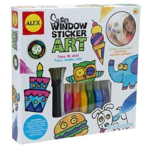 Gift idea for kids that love art: Window Sticker Art.
