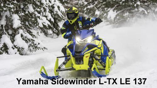 Snowmobil von Yamaha