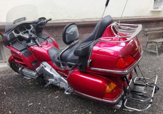Fett wie ein Motorroller, oder?