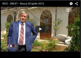 Rai2 – 2NEXT – ABOCA – 28 APRILE 2015