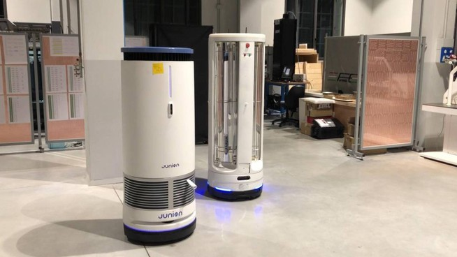 I robot sanificano gli ambienti di lavoro Alla guida l'intelligenza artificiale di Modis