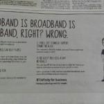 broadband speed terminology faux pas