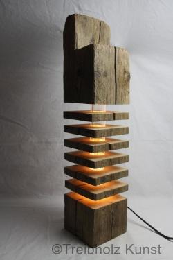 Treibholz Altholz Designlampe  wwwtreibholzbodenseede