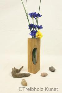 Tischvase, kleine Vase aus Nussbaum - www.treibholz ...