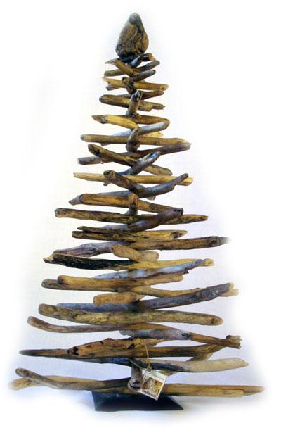 Treibholz Weihnachtsbaum Tanne