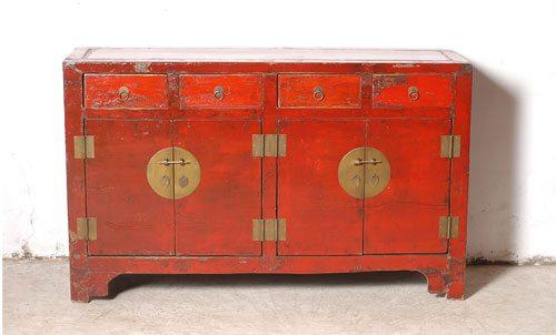 Renovar un viejo mueble dndole un toque oriental