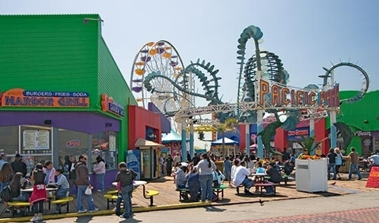 Santa Monica Pier and Pacific Park  Santa Monica CA  Kid friendl  Trekaroo