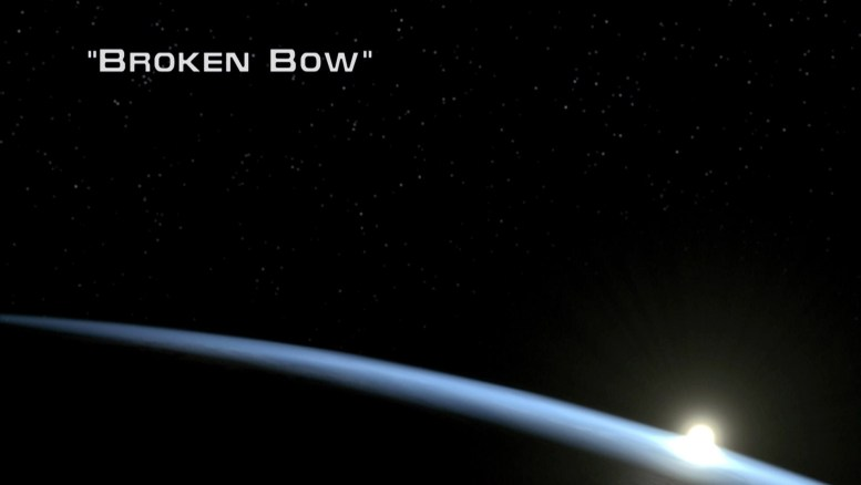 Title Card Enterprise 1x01 Broken Bow