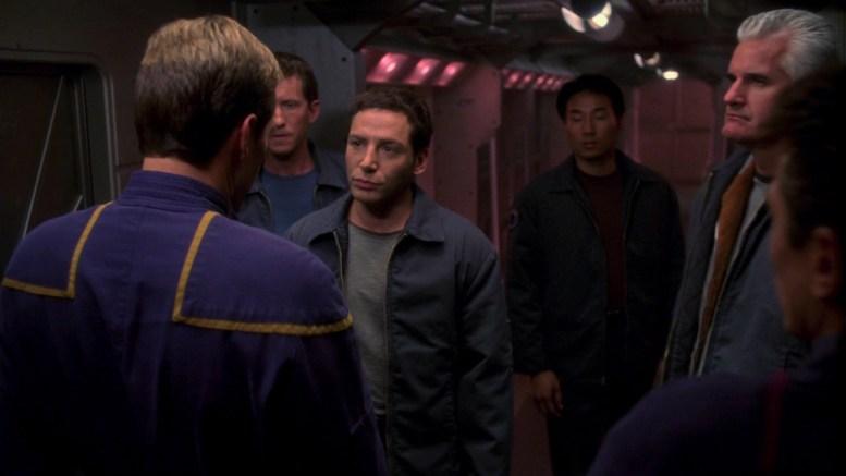 Archer encontra Matthew Ryan, o primeiro-oficial da ECS Fortunate