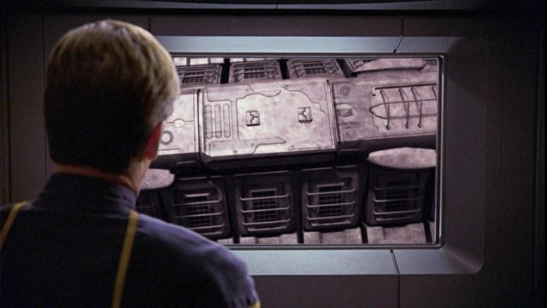 Nave alienígena descoberta pela Enterprise