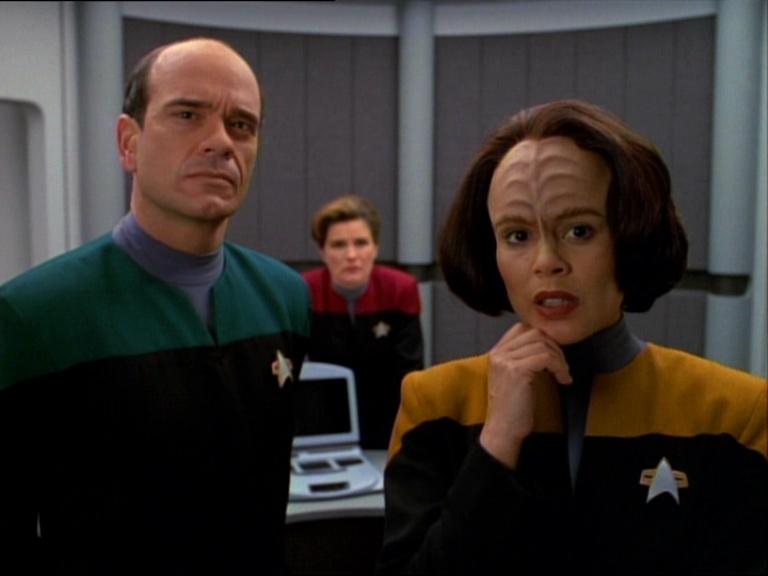 Doutor, Janeway e B'Elanna