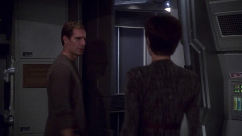 Archer e T'Pol em Silent Enemy