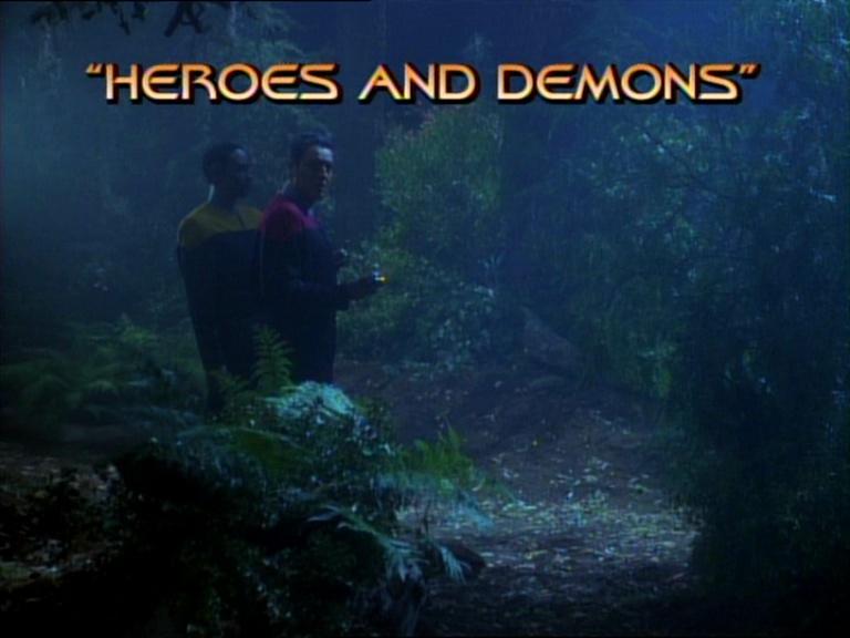 titlecard de Heroes and Demons