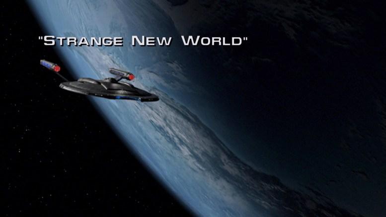 Title card Enterprise Strange New World