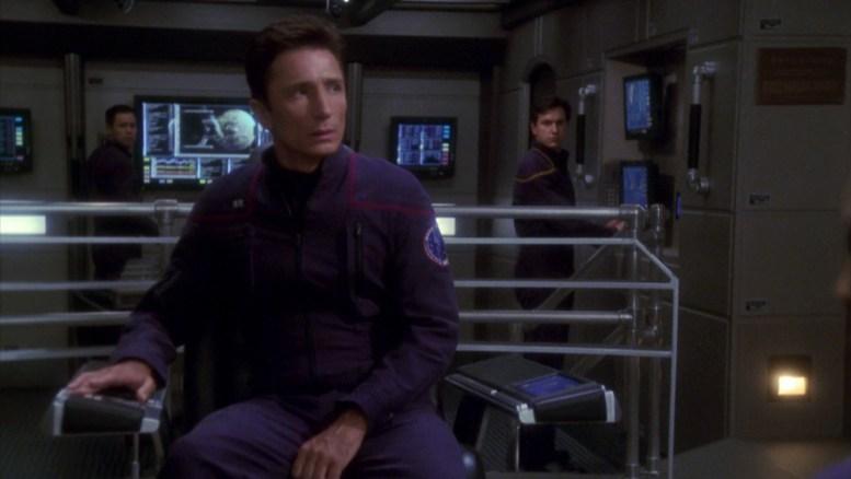 Reed comandando a Enterprise em The Andorian Incident