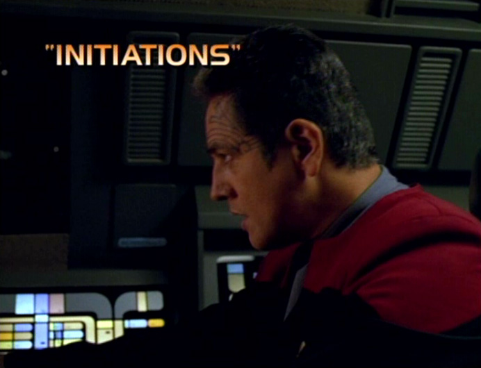 Initiations title card