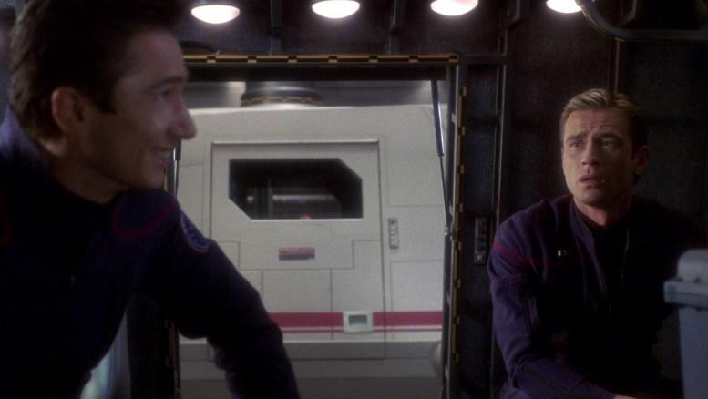 Reed e Tucker em Rogue Planet