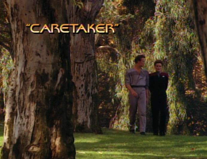 Caretaker title card