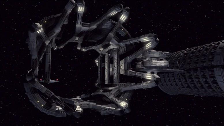 """Estação em Enterprise """"Dead Stop"""""""