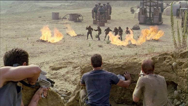 Klingons presos por explosão em mina de deutério