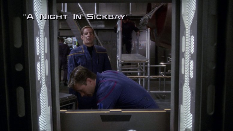 Title card ENT 2x05 A Night in Sickbay