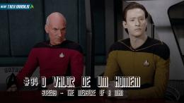 Barba do Riker The Measure of a Man