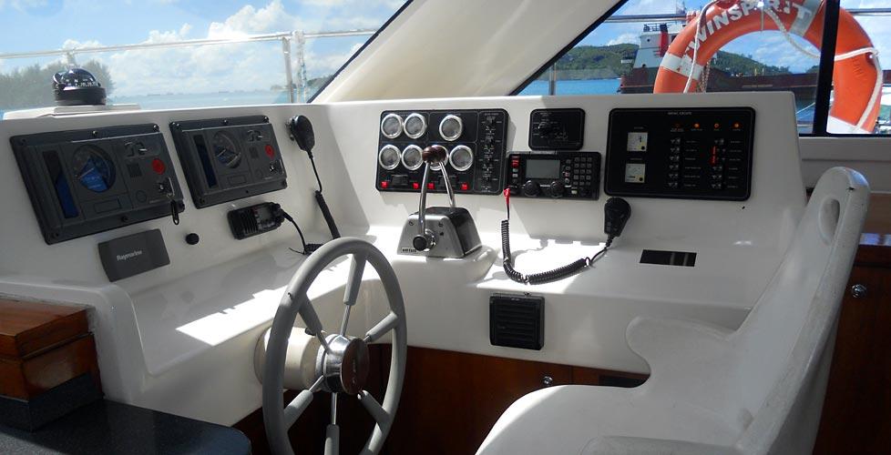 Le Bateau TWIN SPIRIT Croisires Plonge Seychelles La