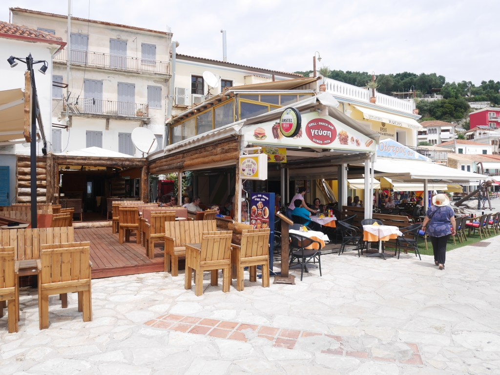 Restaurant Geysi in Parga