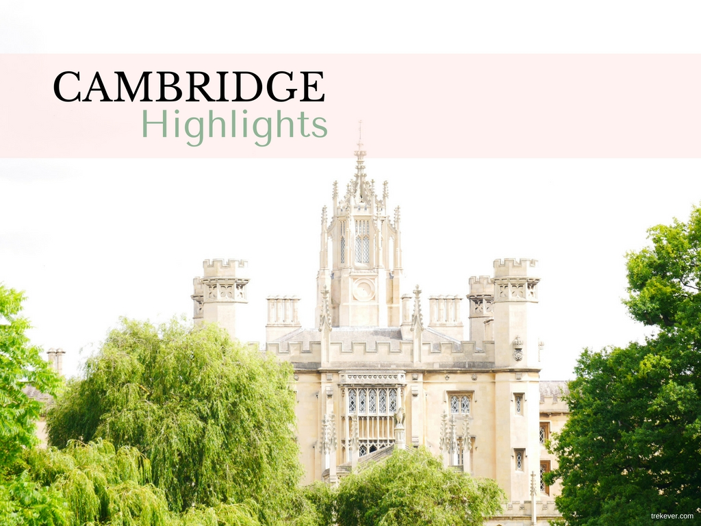 Cambridge highlights