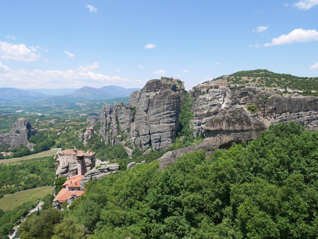 Meteora and some of its monasteries