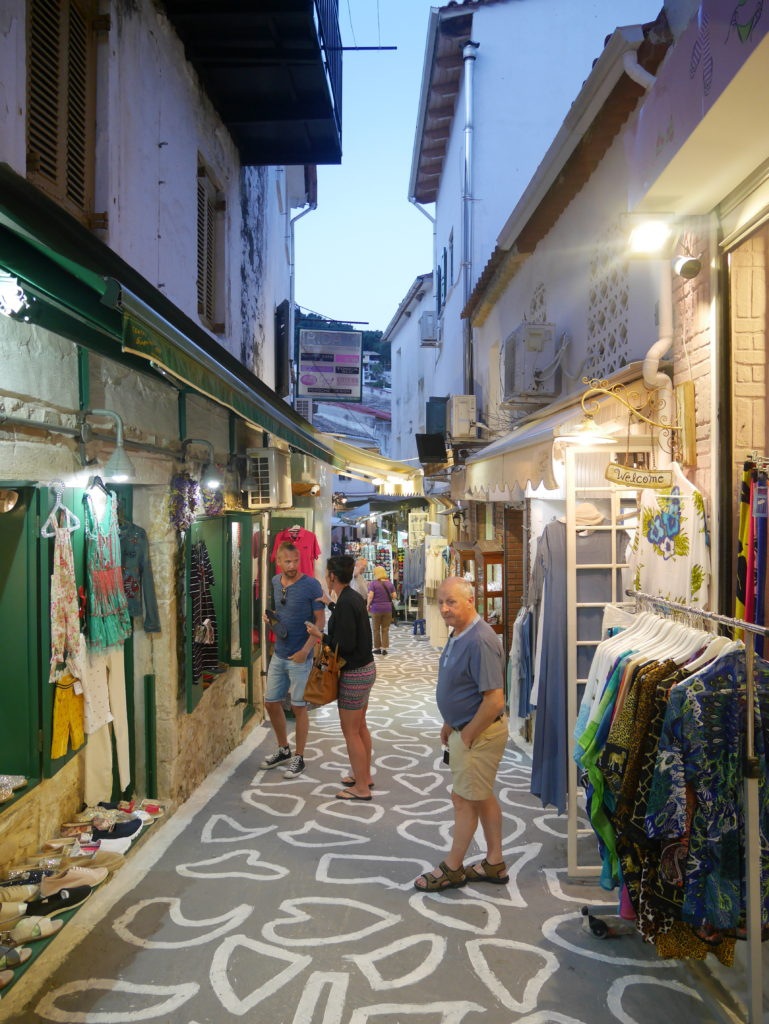 Shopping in Parga