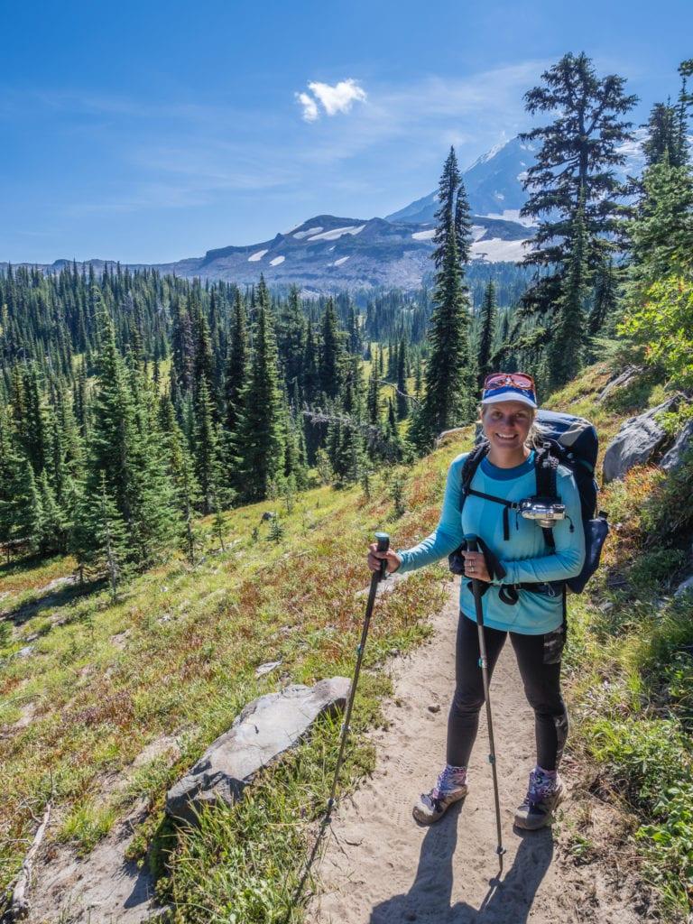 batons de randonnée pour le trek
