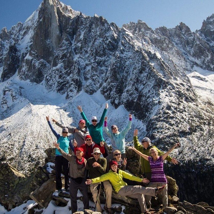 Tour du Mont Blanc en groupe