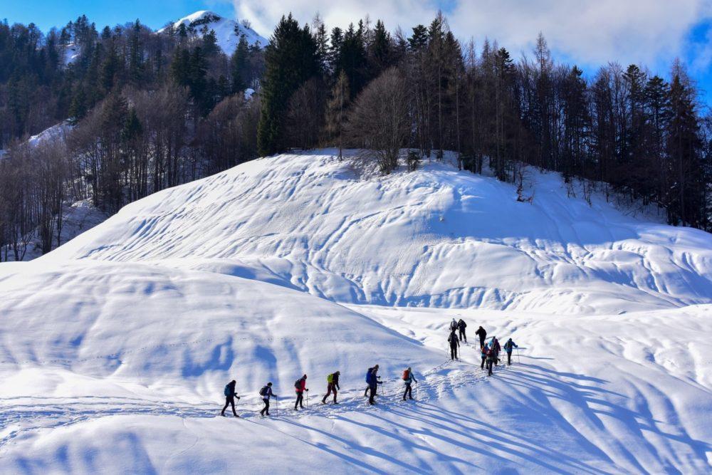 matériel de randonnée en hiver - équipement randonnée en hiver - randonner en hiver