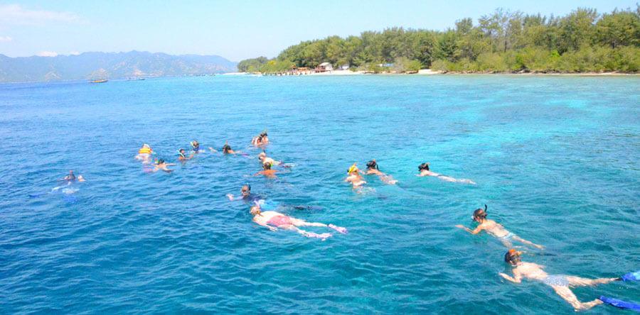 Snorkeling Gili Trawangan, Gili Meno and Gili Air
