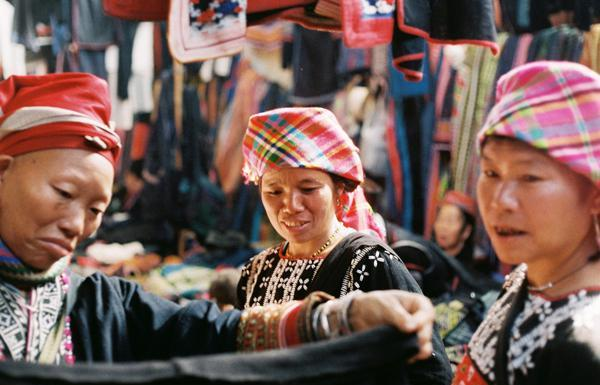 The Love Market in Sapa