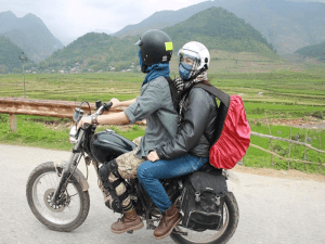 Experience of renting motorbike while traveling to Sapa